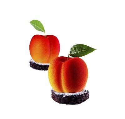 תבנית סיליקון תותיפרוטי - אפרסק