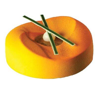 תבנית סיליקון מעוטרת לעוגה KE003