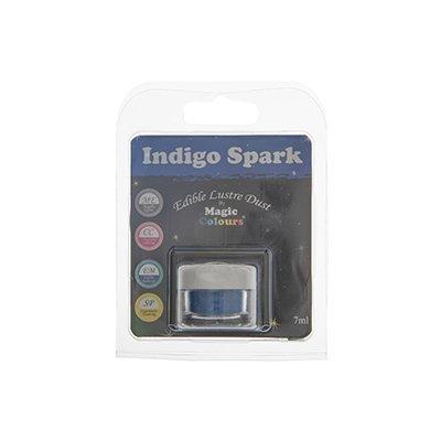 אבקת איבוק מטאלית - כחול אינדיגו