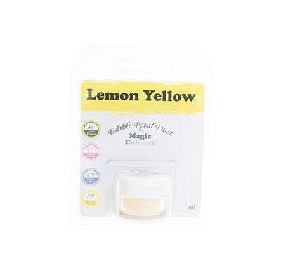 אבקת איבוק קלאסית - צהוב לימון