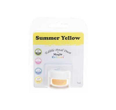 אבקת איבוק קלאסית - צהוב קיץ