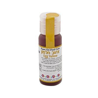 צבע מאכל ג'ל - צהוב חלמון