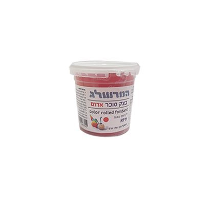 המרשלג בצק סוכר 170 גר' אדום