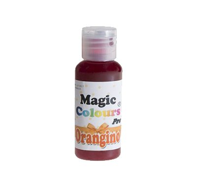 צבע מאכל ג'ל - אורנגינו