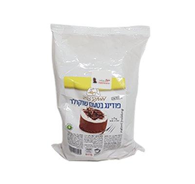 אינסטנט פודינג שוקולד - חום