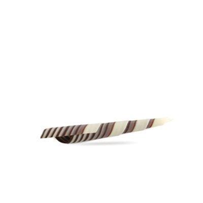 מקל שוקולד ספירל זברה