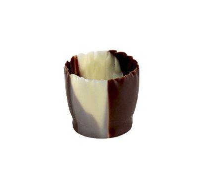 כוסות סנוביט לבן חום