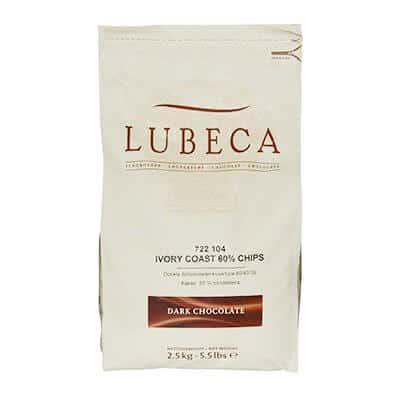 לובקה - שוקולד מריר 1 קילו 60%