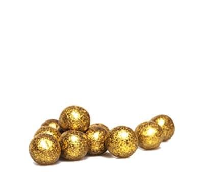 פניני קראנץ XL שוקולד מריר - זהב