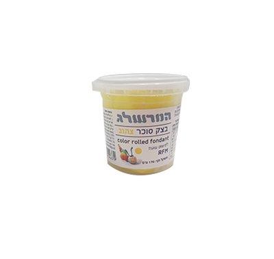 המרשלג בצק סוכר 170 גרם צהוב