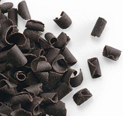 תלתלי שוקולד מריר