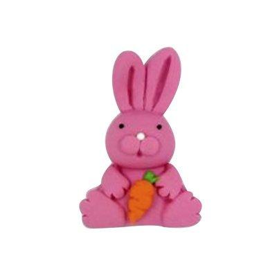 ארנבת ורודה - קישוט לעוגה