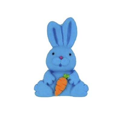 ארנבת כחולה - קישוט לעוגה