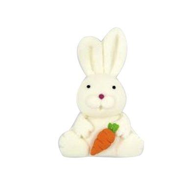 ארנבת לבנה - קישוט לעוגה