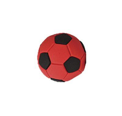 כדורגל אדום - קישוט לעוגה