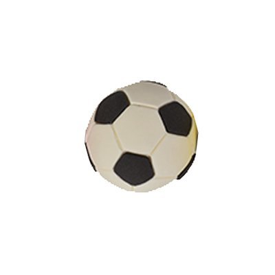 כדורגל לבן - קישוט לעוגה