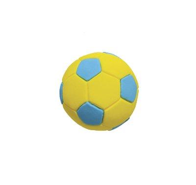 כדורגל צהוב כחול - קישוט לעוגה