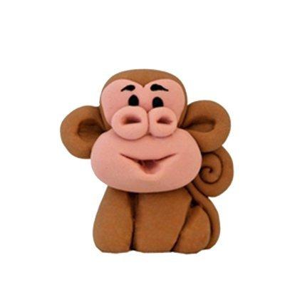 קוף חום - קישוט לעוגה