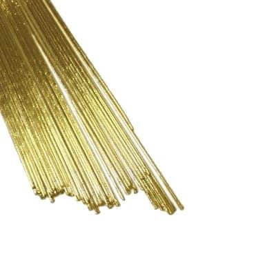 חוטי שזירה לפרחים - זהב מטאלי