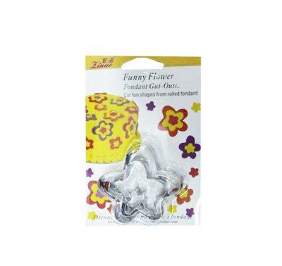 סט 3 חותכני פרח מיני בינוני