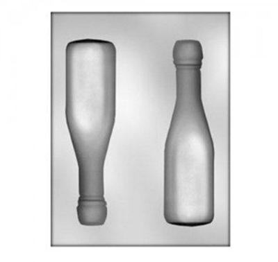 תבנית בקבוקי יין - גדול