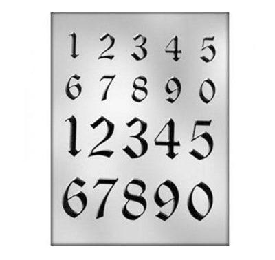 תבנית מספרים גרפיטי