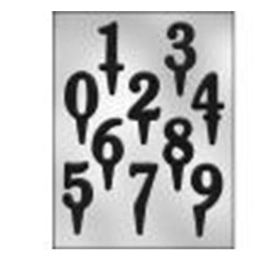 תבנית מספרים על קיסם