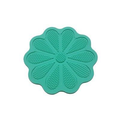 משטח סיליקון ליצירת טקסטורה - פרח ירוק