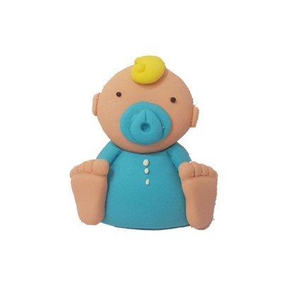 תינוק כחול - קישוט לעוגה