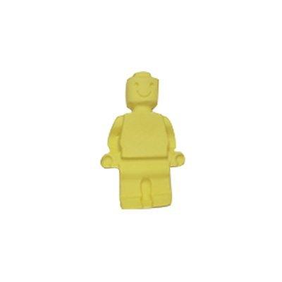 איש לגו צהוב - קישוט לעוגה