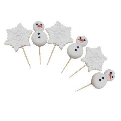 אנשי שלג ופתיתים על קיסם