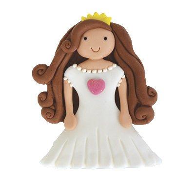 נסיכה שמלה לבנה