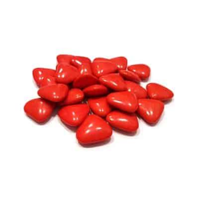 """עדשים לבבות - אדום 1 ק""""ג"""