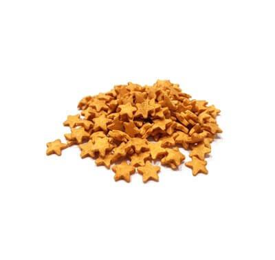 סוכריות - כוכבים זהובים מנצנצים