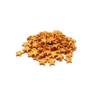 סוכריות – כוכבים זהובים מנצנצים
