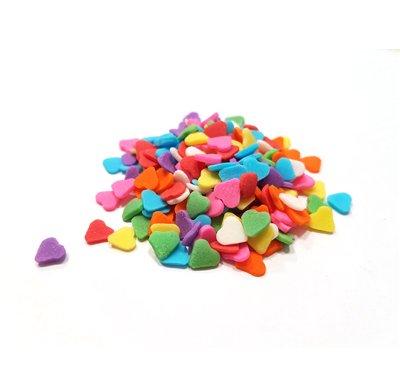 סוכריות - לבבות צבעוניים