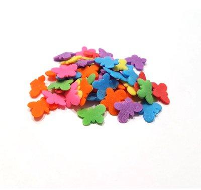 סוכריות - פרפרים צבעוניים