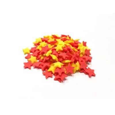 סוכריות – כוכבים אדום צהוב