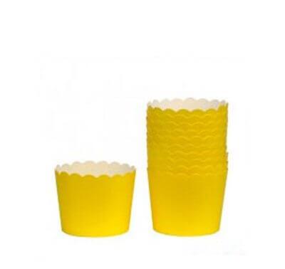 מאפינס גדול צהוב