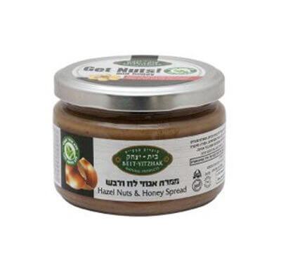 ממרח אגוזי לוז ודבש