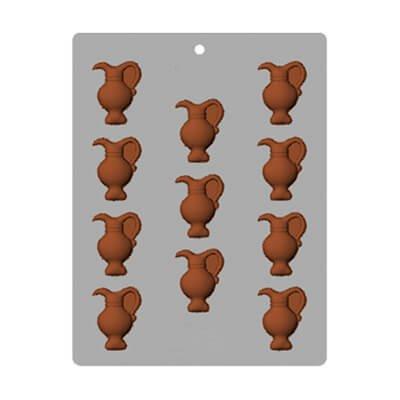 תבנית שוקולד כדים