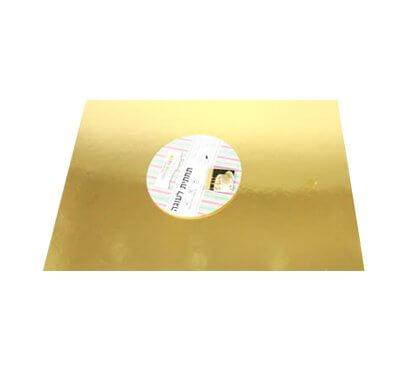 בסיס עוגה מלבן זהב