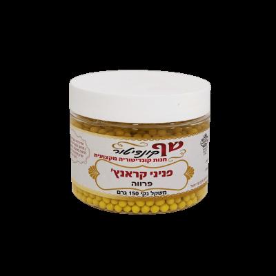 פניני קראנץ' צהוב - פרווה